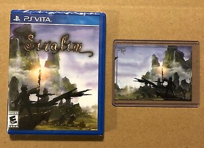 Siralim Limited Run Games #137 Sony PS Vita NEW SEALED RARE with Trading Card