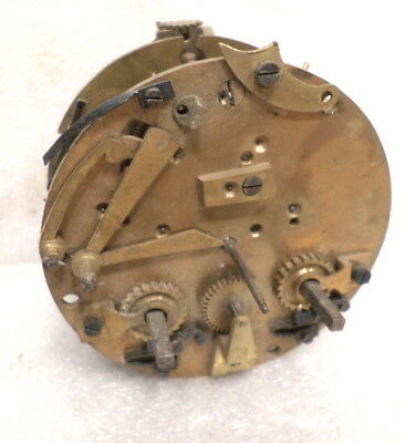 Signed 'Bonam' Eight Day French Time & Strike Clock Movement