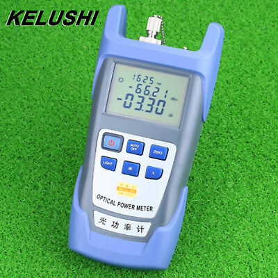 FTTH Fiber Optical Power Meter Optic Cable Tester -70dBm~+10dBm SC/FC Connector