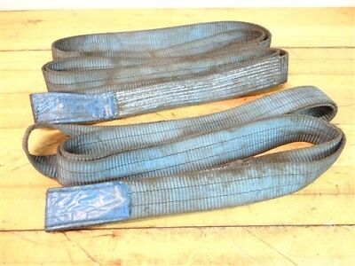"""Pair Of Lot Of Lifting Sling Straps 2"""" X 6'"""
