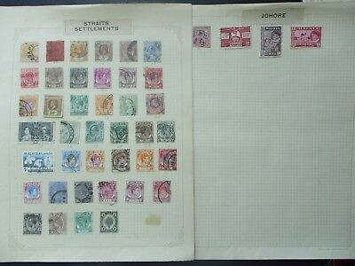 ESTATE: Federated Malay States Collection on Pages - Must Have!! (233)