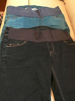 Maternity Jeans x2, Size 12