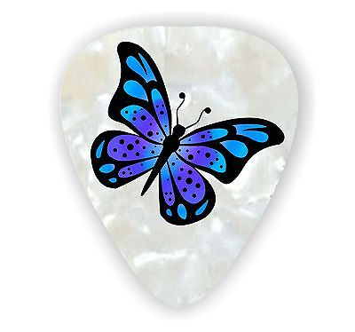10 X BUTTERFLY ~ GUITAR PICKS ~   *Printed Both Sides*