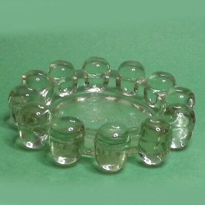 Round Ashtray Collectible Foxwood Casino Glass