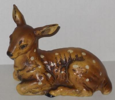 Vintage Ceramic Deer OC CTI Japan Fawn