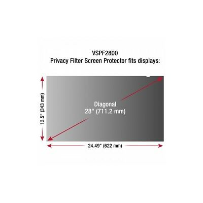 ViewSonic 28 Display Privacy Filter VSPF2800
