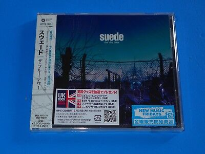 2018 Japan Suede The Blue Hour Cd