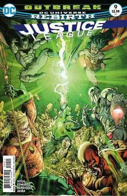 Justice League (2016 series) #9 in Near Mint condition. DC comics [*ki]