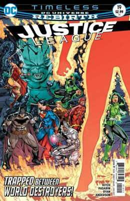 Justice League (2016 series) #19 in Near Mint condition. DC comics [*tn]