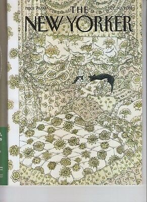 Cat Fancy The New Yorker Magazine December 10 2018 No Label