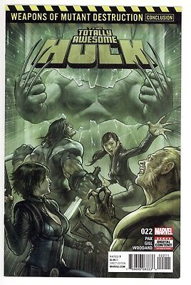 Totally Awesome Hulk #22 (Marvel 2017) NM 1st Print 1st full app Weapon H X