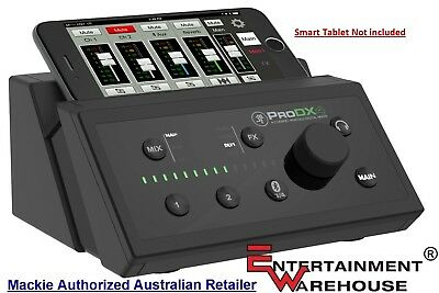 Mackie ProDX4 4-channel Wireless Digital Mixer with Bluetooth Streaming