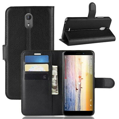 Stand Card Slot Wallet PU Leather Case Cover For Wiko Sunny 3 Plus Smartphone