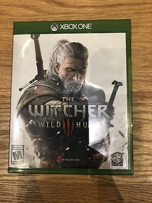 USED Witcher 3: Wild Hunt  (Microsoft Xbox One, 2015) Complete