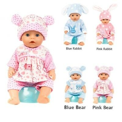 Baby Born Doll Clothes Fit 18inch Zapf Dolls Sleeping Jumpsuit Suit Doll Pajamas