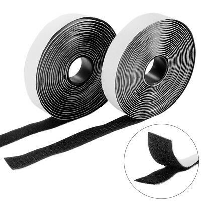5M Self Adhesive Stick On Tape Hook and Loop Stick On Strips Backed Tape BI1218
