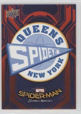 2017 Upper Deck Spider-Man Homecoming Wal-Mart Exclusive #RB-37 Card 7n2