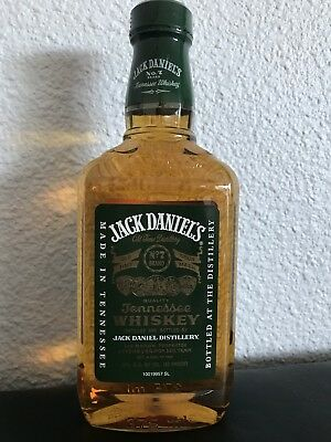 Jack Daniel's Green 375 Ml  Plastique Bottle Heritage ( No Sb Heritage )