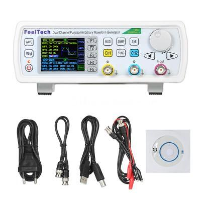 Dual-channel Arbitrary Waveform DDS function signal generator Sine Square 60MHz