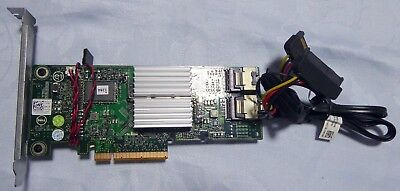 DELL PERC H310 SAS PCI RAID controller with sata and HDD Activity Cables