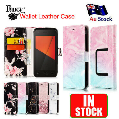 Fancy Stylish Wallet Leather Flip PU Case Cover for Vodafone Smart C9 3G