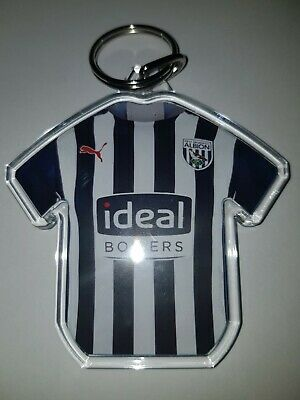 Personalised Keyring West Bromwich Albion F.C SHIRT