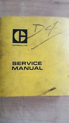 Caterpillar D4  Service Manual