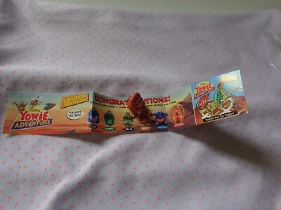 Yowies Adventure Series 1 (Series 6) Limited Edition Mini  Rumble Paper Intact