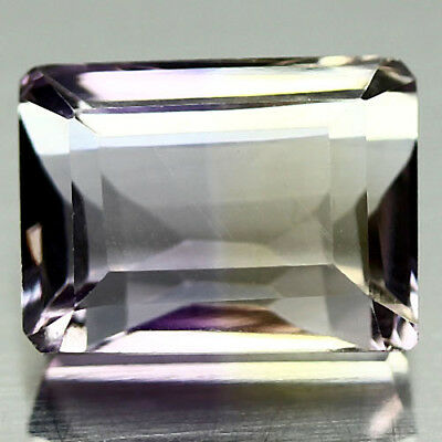 5.73 Ct Vvs! Natural! Purple & Yellow Bolivia Ametrine Octagon