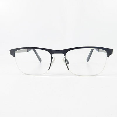 1d52a2209a HUGO BOSS BO0227 Semi rimless Used Eyeglasses Eyeglass Glasses Frames