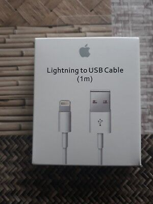 100% Original Cable Chargeur Usb Lightning Apple Iphone/ipad/ipod