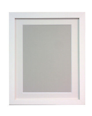 Large White Photo Picture Frames with White Mount 70 x 50 cm Image Size A2 H7