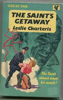 The Saint's Getaway by Leslie Charteris   paperback  book