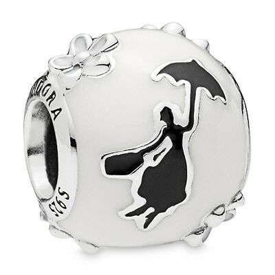 Sterling Silver Charm MARY POPPINS ALE S925 Genuine Pandora bag