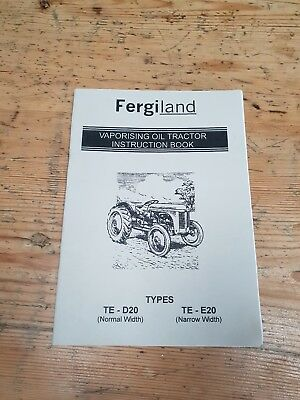 Massey Ferguson instruction book
