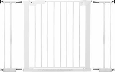 Extra Wide Cuggl Stair Gate Doorway White Safety Baby Pet Guard Pressure Fit