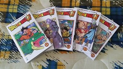 Dragon Ball Super Manga Sequenza Da 1 A 5 Pari Al Nuovo Fumetti