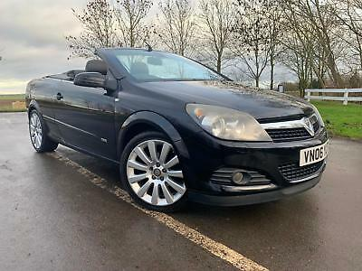 Vauxhall Astra 1.8 Twin Top Design Convertible