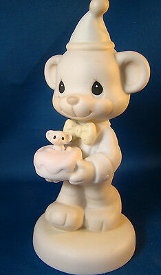 Precious Moments Wishing You A Happy Bear Hug  #520659 1994 Mib @j