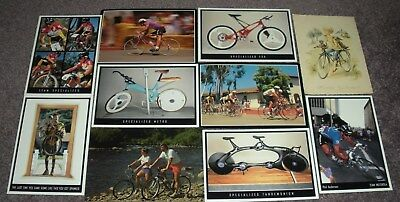 10 Vintage Bicycle / Cycling Postcards,Lot