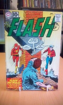 The Flash #123 September 1961 Low Grade