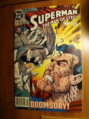 DC Comics Superman The Man of Steel #19 Doomsday is Here! 1993