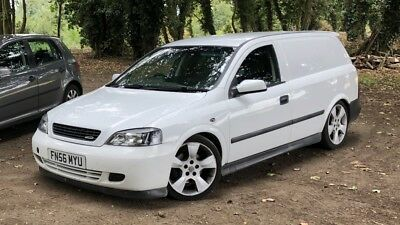2006 56 Vauxhall's Astra van 1.7 cdti mk4 mot modified white gsi sri coupe