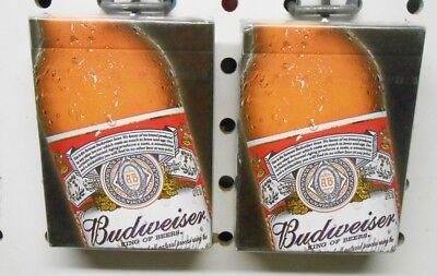 Two NEW Decks Budweiser Playing Cards