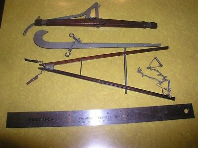 Fairbanks Scale Small Wooden Vintage Antique