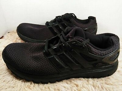 Mens Adidas Energy Cloud Black Running Athletic Sport Shoes S81023 Size 9