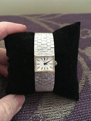 Lovely Vintage Ladies Solid Silver Swiss Rotary Watch, c1975