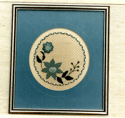 Victorian Garland Beaded Surface Embroidery Kit Congress Cloth FREE P&P (UK)