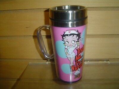 Betty Boop Insulated Nurse Travel Mug
