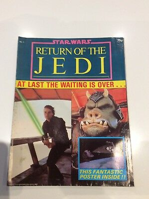 Return Of The Jedi Poster Magazine Issue 1